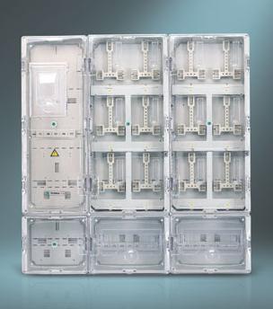 单相十二位插卡式电表箱
