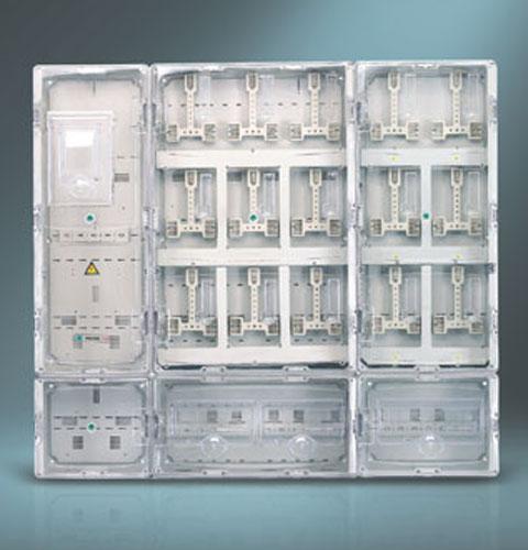 单相十五位插卡式电表箱
